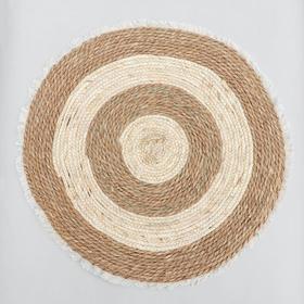 Коврик плетёный «Тори» 60×60 см