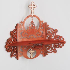 Иконостас № 12, цвет красное дерево, 49х18х51 см