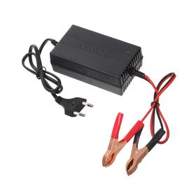 Зарядное устройство АКБ 12 В, 2 А, автомат, 220 В - фото 7317403