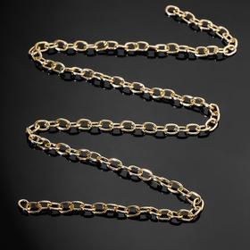 Chain without carabiner L60cm (set of 3 PCs), A1622 0.15*0.62*0.8, color gold