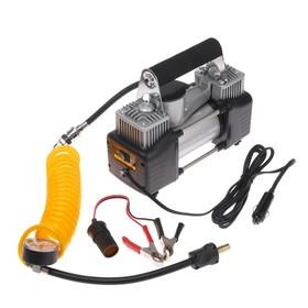 Car compressor in a bag 12V, 70 l / min, 220W, silver