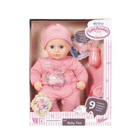 "Кукла ""Baby Annabell Веселая малышка"" 36 см многофункциональная 702-604"