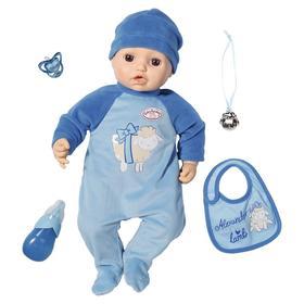 "Кукла-мальчик ""Baby Annabell"" 43 см многофункциональная 701-898"