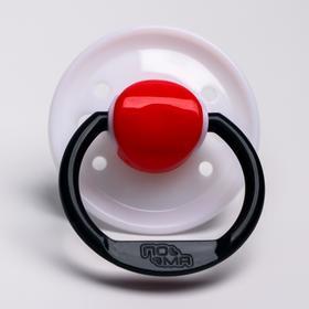 Соска-пустышка силиконовая, от 0 мес., баллон круглой формы, МИКС