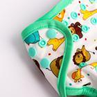 Многоразовый подгузник на клепках, «Животные» - фото 105790704