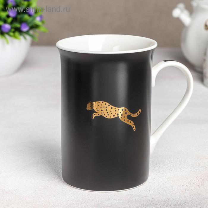 Leopard mug, 300 ml