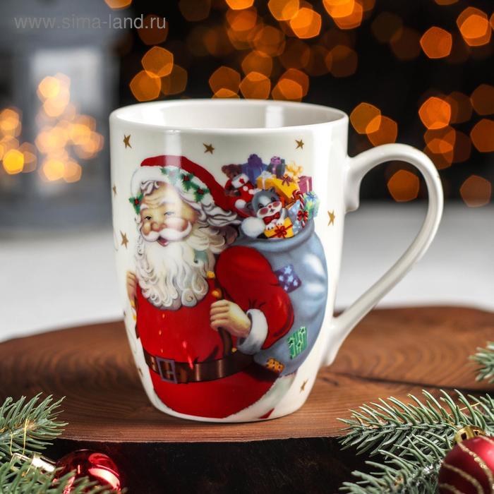 "Circle "" New year. Ded Moroz"", 350 ml"