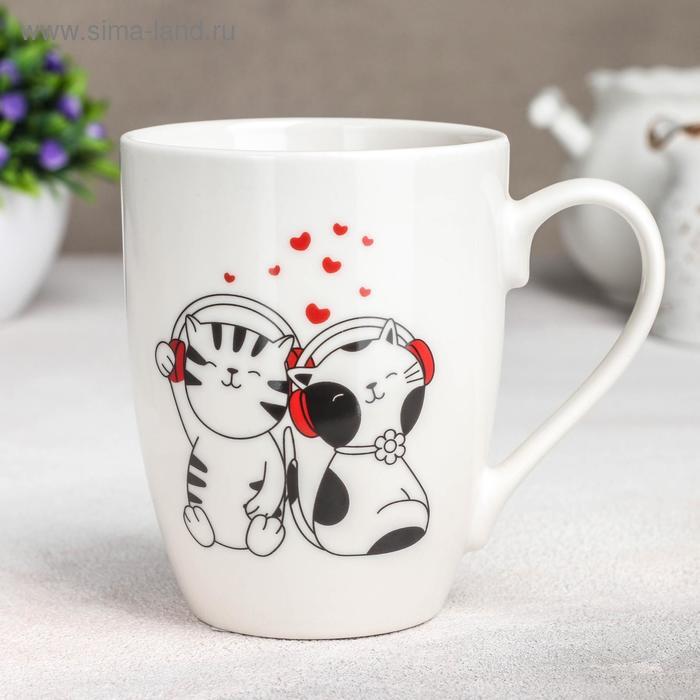 "Mug ""Cats music lovers"", 350 ml"