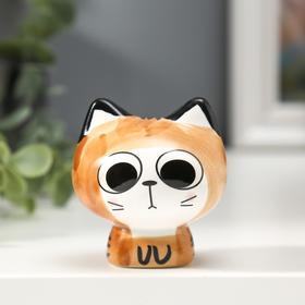 "Сувенир керамика ""Маленький котёнок Манэки-нэко"" МИКС 6,2х6х5,5 см"