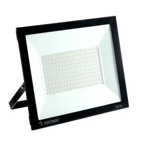 """Прожектор светодиодный """"КОСМОС"""" Super-Slim, 150 Вт, 6500 К, 12000 Лм, IP65"""