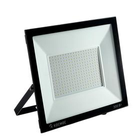 """Прожектор светодиодный """"КОСМОС"""" Super-Slim, 300 Вт, 6500 К, 27000 Лм, IP65"""