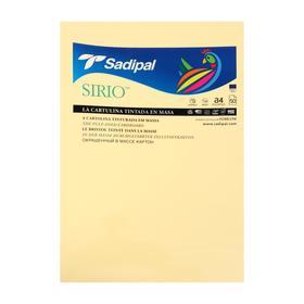 Бумага цветная 210*297мм Sadipal Sirio 170г/м2 ваниль 7925