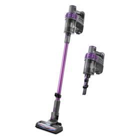 Пылесос Kitfort КТ-573, вертикальный, беспроводной, 150 Вт, 1 л, чёрно-фиолетовый