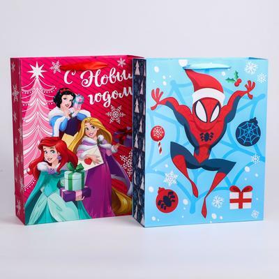 "Laminate package "" Happy New Year!"", Disney, 31x40x11 cm, MIX 2"