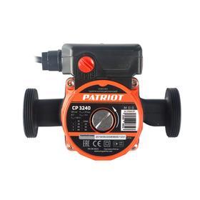 Насос циркуляционный PATRIOT CP 3240, 85 Вт, 50 л/мин, напор 4 м, кабель 0,9 м