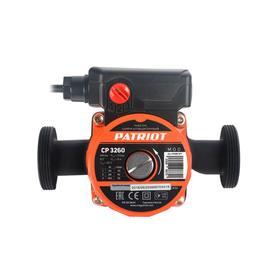 Насос циркуляционный PATRIOT CP 3260, 100 Вт, 55 л/мин, напор 6 м, кабель 0,9 м