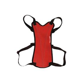 Шлейка прогулочная Osso для собак, размер L (ОГ 60-90 см), красная