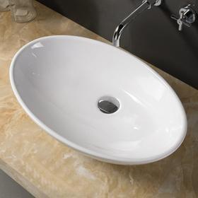Раковина COMFORTY 7689, накладная, цвет белый