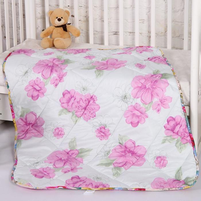 Одеяло шерсть, размер 110х140 см, цвет МИКС - фото 76573291