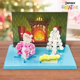 Набор для опытов «Чудесные кристаллы», Дед Мороз