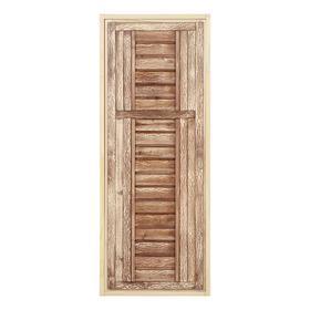 Дверь для бани,180×70см, состаренная
