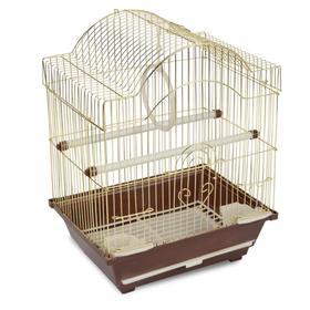 Клетка Triol для птиц, 30 х 23 х 39 см, золото