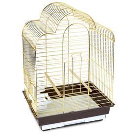 Клетка Triol для птиц, 46,5 х 36 х 65 см, золото