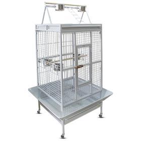 Клетка Triol для птиц, эмаль, 83 х 77 х 168 см, белая