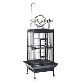 Клетка Triol для птиц, эмаль, 83 х 77 х 178 см, чёрная