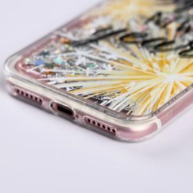 Чехол - шейкер для телефона iPhone 7,8 «Счастливого года», 6,8 х 14,0 см - фото 72263