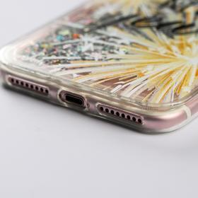 Чехол - шейкер для телефона iPhone 7,8 plus «Счастливого года», 7,7 х 15,8 см - фото 72202