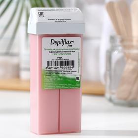 Воск для депиляции Depilflax100, кремовая роза, 110 г