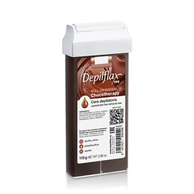 Воск для депиляции Depilflax100, шоколадный, 110 г