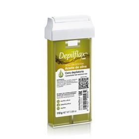 Воск для депиляции Depilflax100, оливковый, 110 г