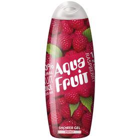Гель для душа Aquafruit Raspberry energy, 420 мл