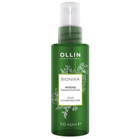 Флюид для восстановления волос Ollin Professional Bionika, реконструктор, 100 мл