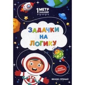 Задачки на логику: полет в космосе: книжка-гармошка. Ивинская С.