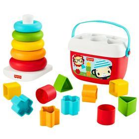 Игровой набор Blocks & Rock-a-Stack