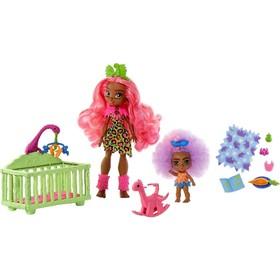 Игровые наборы Cave Club, с двумя куклами