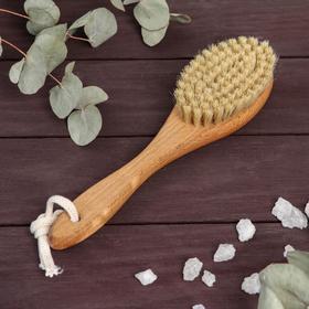 Щётка для сухого массажа, натуральная щетина, 79 пучков Ош