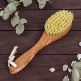 Щётка для сухого массажа, натуральный тампико, 79 пучков Ош