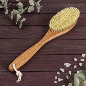 Щётка для сухого массажа, натуральный тампико, 215 пучков