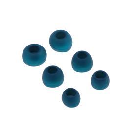 Комплект амбушюр Krutoff, для наушников, 3 пары, размер S, M, L, синие Ош