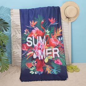 "Beach towel Ethel ""Summer"", 75*140 cm, microfiber, 100% p/e"