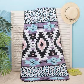 """Beach towel Ethel """"Antique"""", 75*140 cm, microfiber, 100% p/e"""