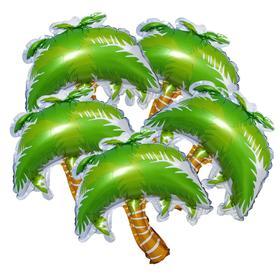 """Шар фольгированный 14"""" «Пальма», мини, набор 5 шт."""