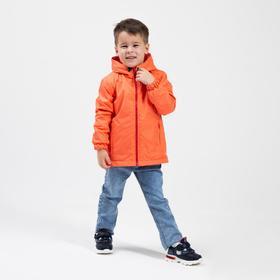 Ветровка для мальчика, цвет красный, рост 104 см