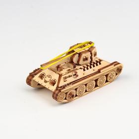 """Деревянный конструктор """"UNIT Танк Т-34"""""""