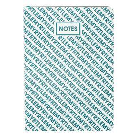 Записная книжка А6+, 96 листов ColorMania. Myrtle, интегральная обложка, искусственная кожа, ляссе, тонированный блок 70 г/м2
