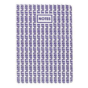 Записная книжка А6+, 96 листов ColorMania. Purple, интегральная обложка, искусственная кожа, ляссе, тонированный блок 70 г/м2